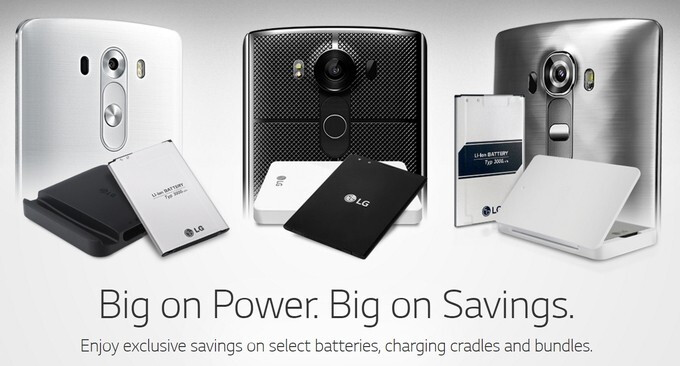 Deal: spare batteries for the LG G3, G4, and V10 priced at just $15