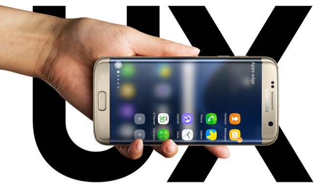 Are you using the new Edge UX on the Galaxy S7 edge?