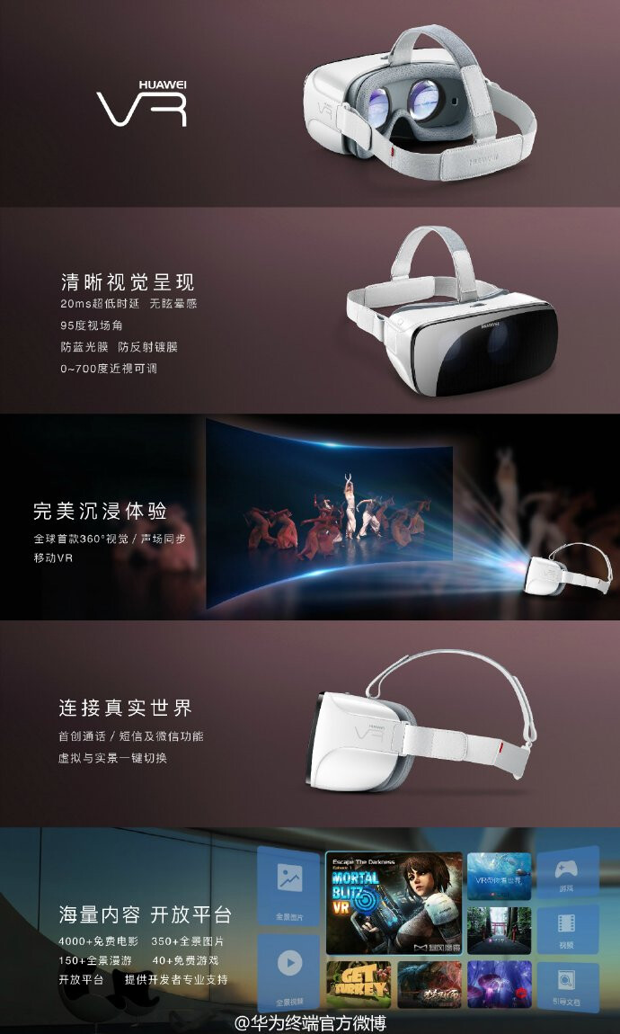 The Huawei VR headset one-ups the competition with 360 degree sound field