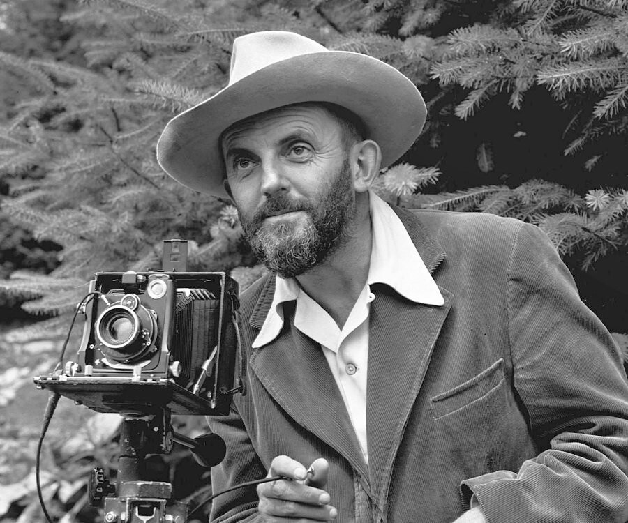 Ansel Adams, 1902-1984 - The honor 5X sports an alluring camera that stands out