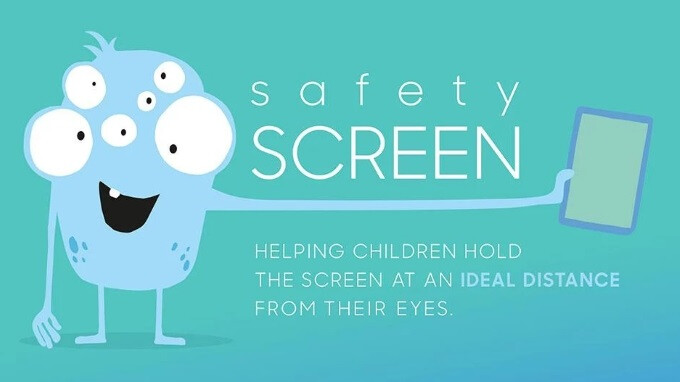 Samsung launches app to stop children from watching smartphone and tablet screens from too close