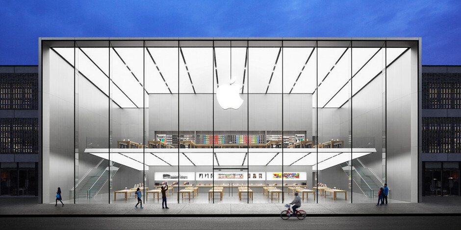 Apple's flagship retail store in Beijing. - Chinese media regulator pulls the plug on Apple iBooks and iTunes Movies in an unprecedented move