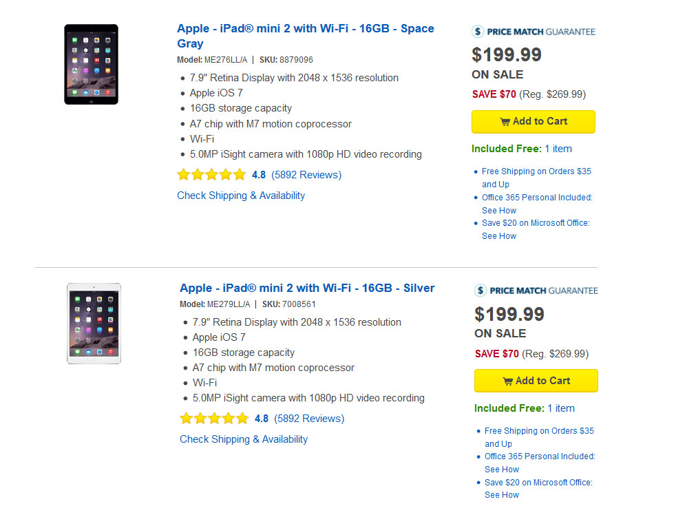 Weekend sale from Best Buy takes $200 off specific Apple ...