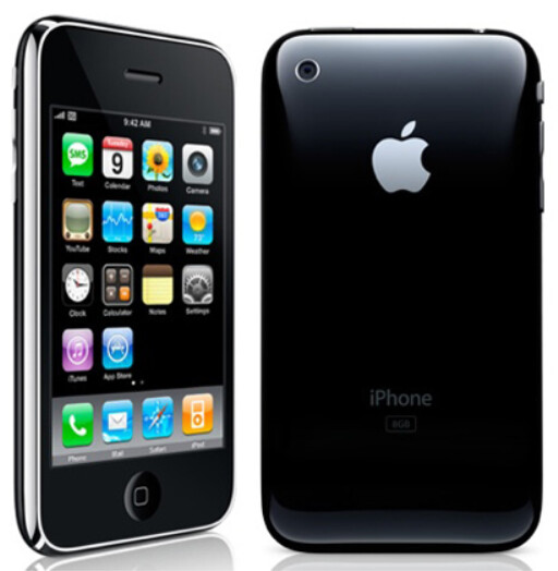 Apple had released the iPhone 3G just weeks before the launch of the BlackBerry Bold 9000 - Remembering the BlackBerry Bold 9000