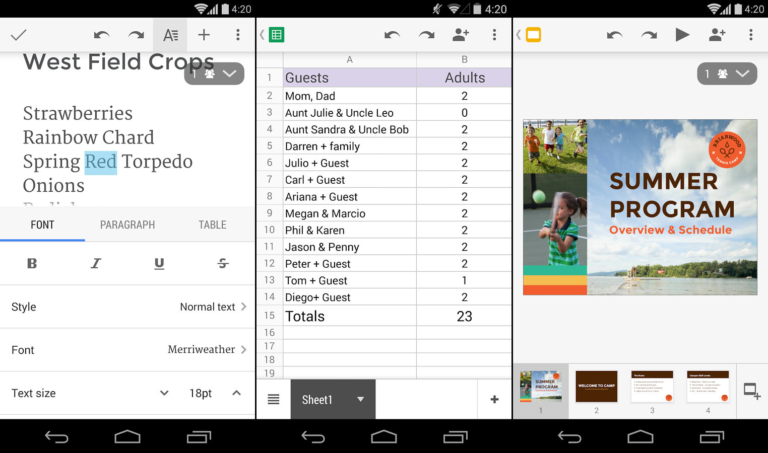 Best android office apps - Office apps for android free ...