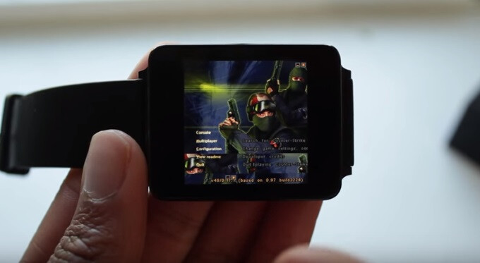Counter Strike running on an Android Wear smartwatch is a frustrating technological marvel