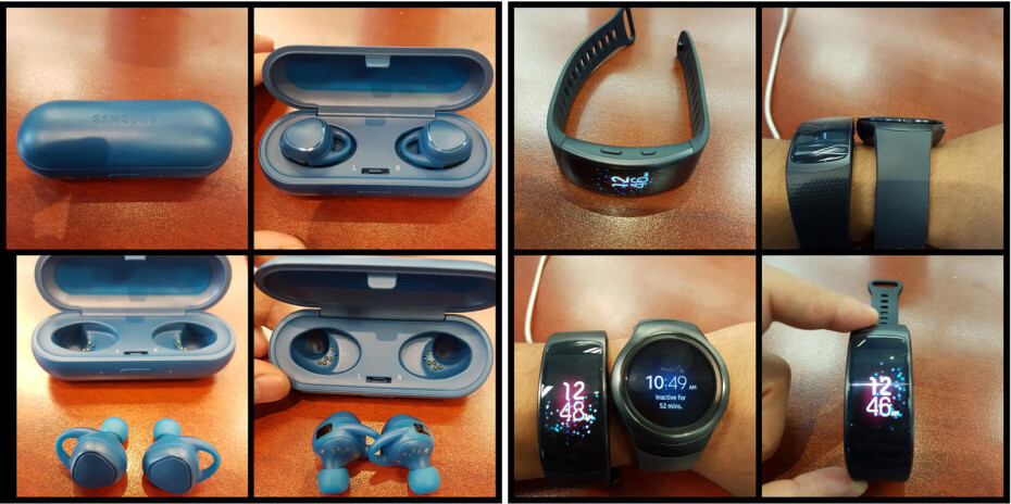 Samsung Gear Fit 2 and 'IconX' Bluetooth earbuds leaked in photos