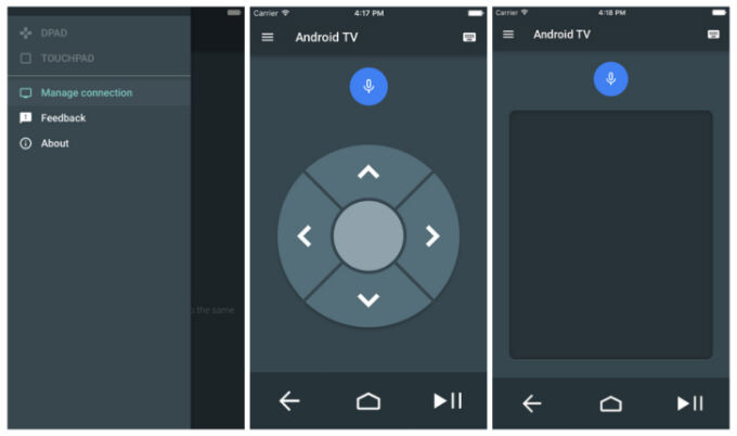 Google releases Android TV remote for iOS