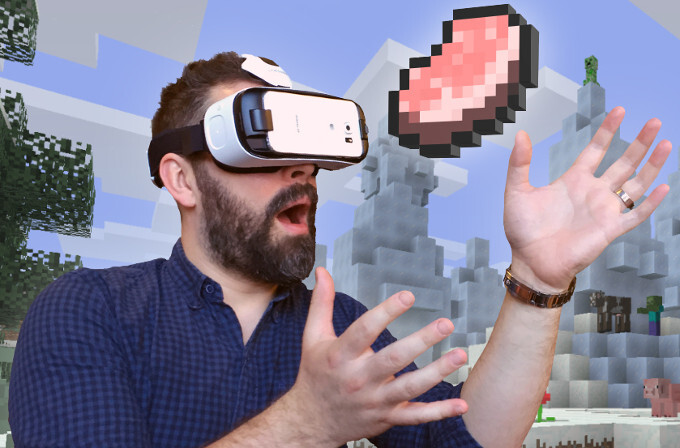 Minecraft for Gear VR priced $6.99, Samsung working on a standalone virtual reality device