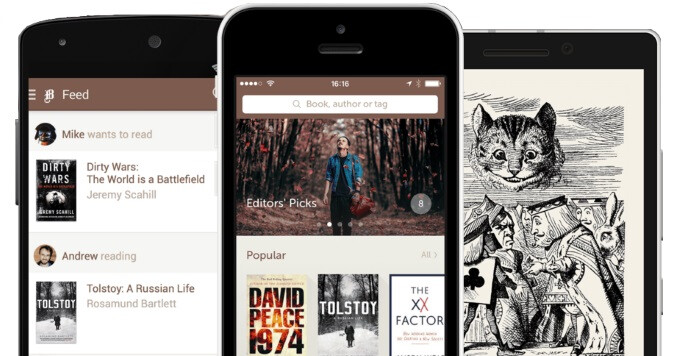 Bookmate for Android and iOS lets you read over 500,000 books, online and offline