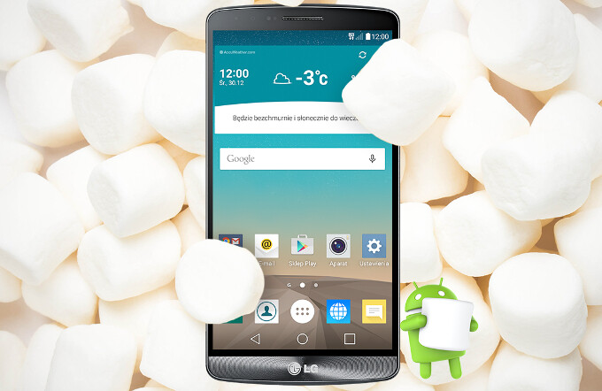 The LG G3 finally gets its Android 6.0 Marshmallow update on AT&T (UPDATE: T-Mobile, too)