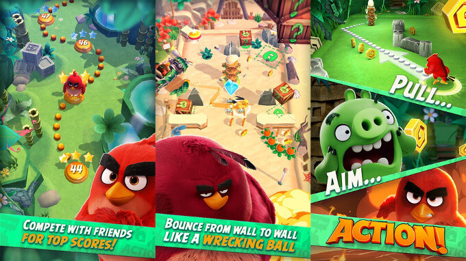 Angry Birds Action - Best new Android and iPhone games (April 27th - May 3rd)