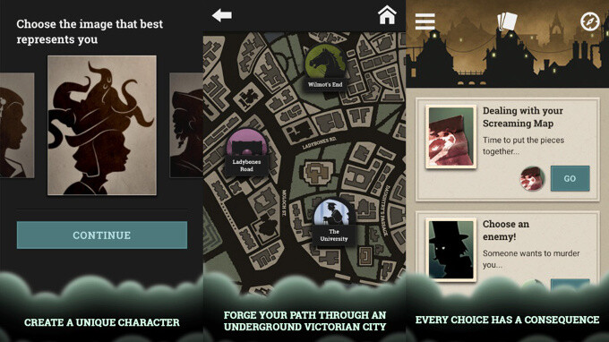 Fallen London - Best new Android and iPhone games (April 27th - May 3rd)