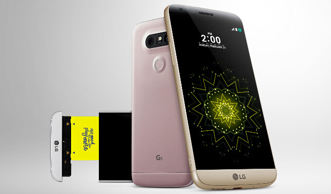 How to change Android system display font type and size on LG's G5
