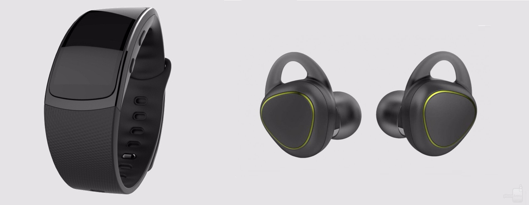 Samsung Accidentally Showcases New Fitness Band And Bluetooth Earbuds Phonearena