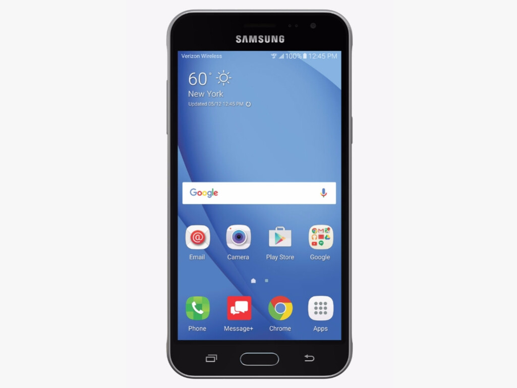 samsung galaxy j3 2016 launches on verizon android. Black Bedroom Furniture Sets. Home Design Ideas