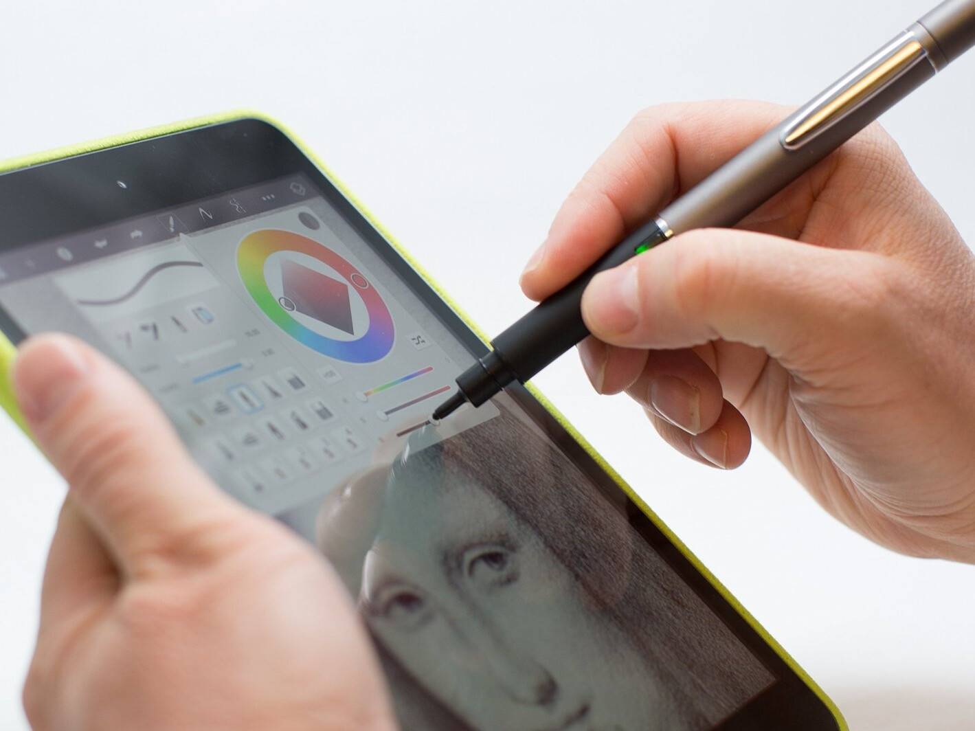 Smart pen and stylus for Android and iOS smartphones and ...