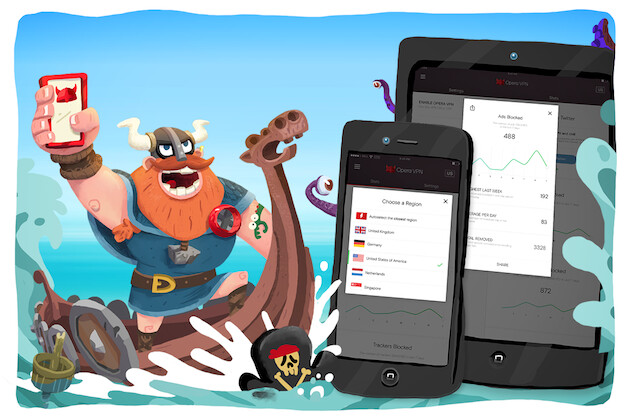 Streamers, rejoice! Free unlimited VPN app lands for the iPhone and iPad, courtesy of Opera