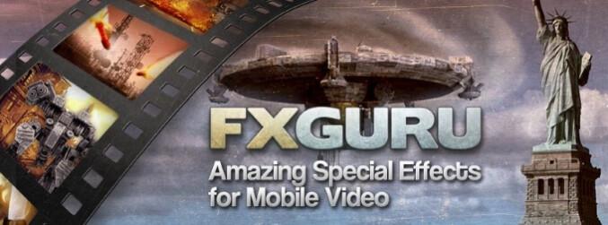 FxGuru MovieFX Director turns you into a full-blown action movie star