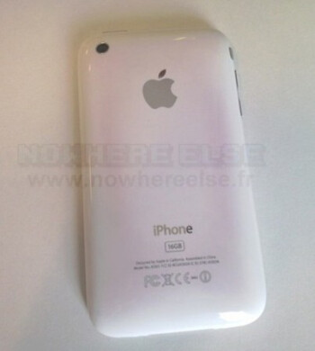 iPhone 3GS losing its pearly white finish?