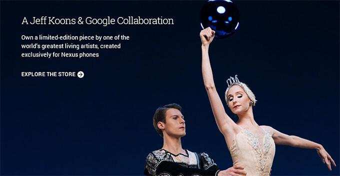 Google teases new Nexus Live Cases from artist Jeff Koons