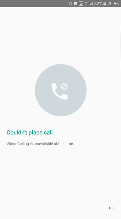 Another clue telling us that video calls are coming to WhatsApp