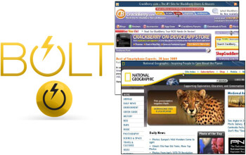 BOLT browser gets upgrade to Beta 3