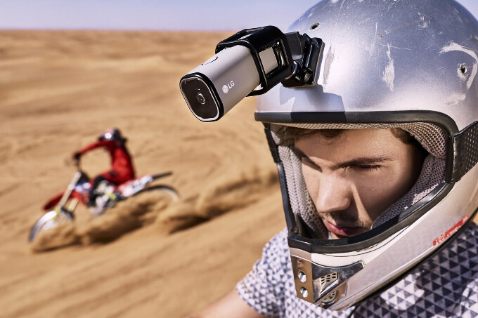 New 'Friend' on the block - LG's new standalone Action CAM LTE shoots 4K & streams to YouTube