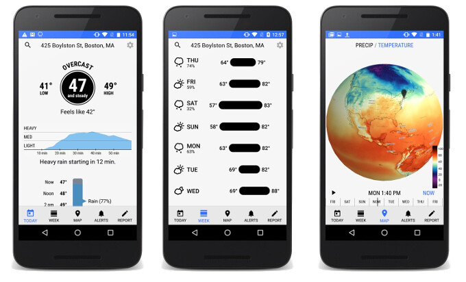 Dark Sky finally brings its down-to-the-minute, hyperlocal weather forecasts to Android