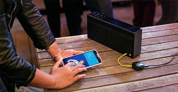 Google's got a new free-music promo for Chromecast and Chromecast Audio owners