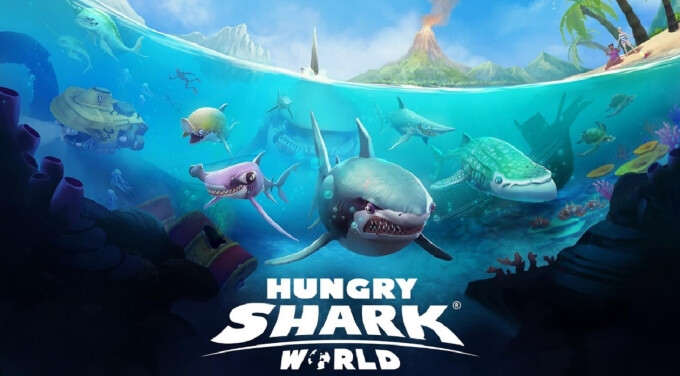 'Hungry Shark World' eats the charts with 10 million Android and iOS gamers playing a week post launch