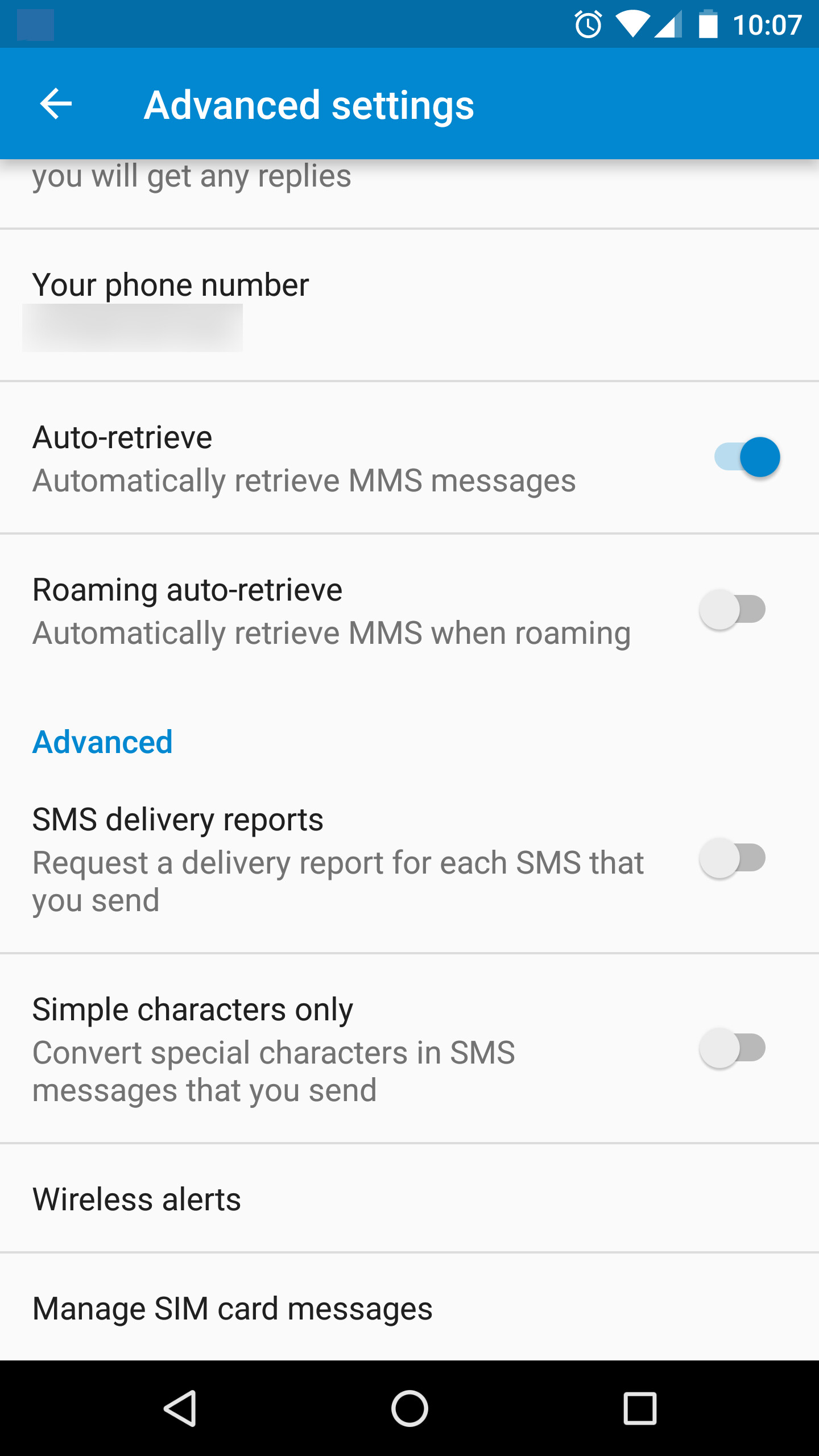 Google Messenger adding SIM card message manager - PhoneArena