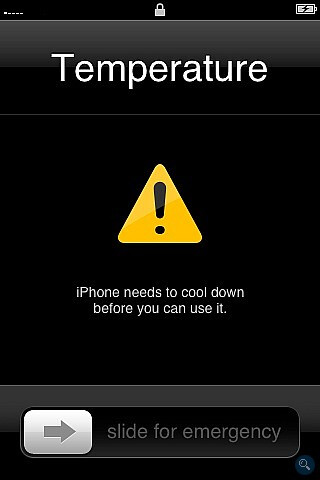Apple suggests best temperature range for the iPhone
