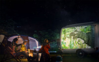 camping-projector