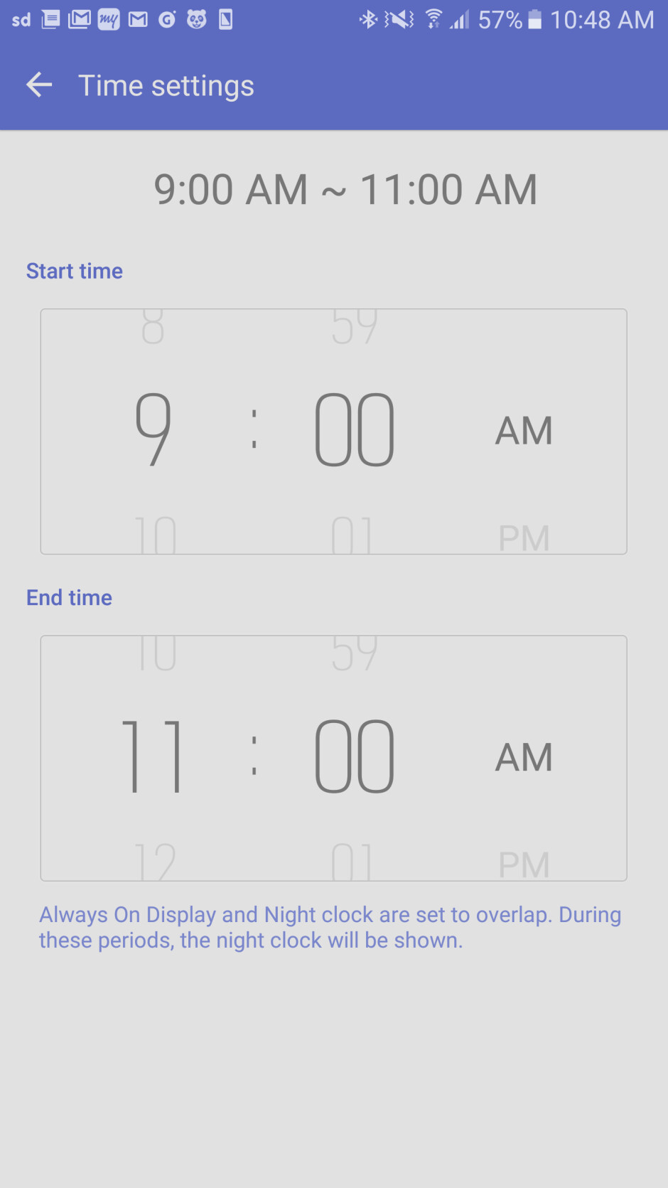 You can now schedule Always On Display on the Galaxy S7 & S7 courtesy of a software update