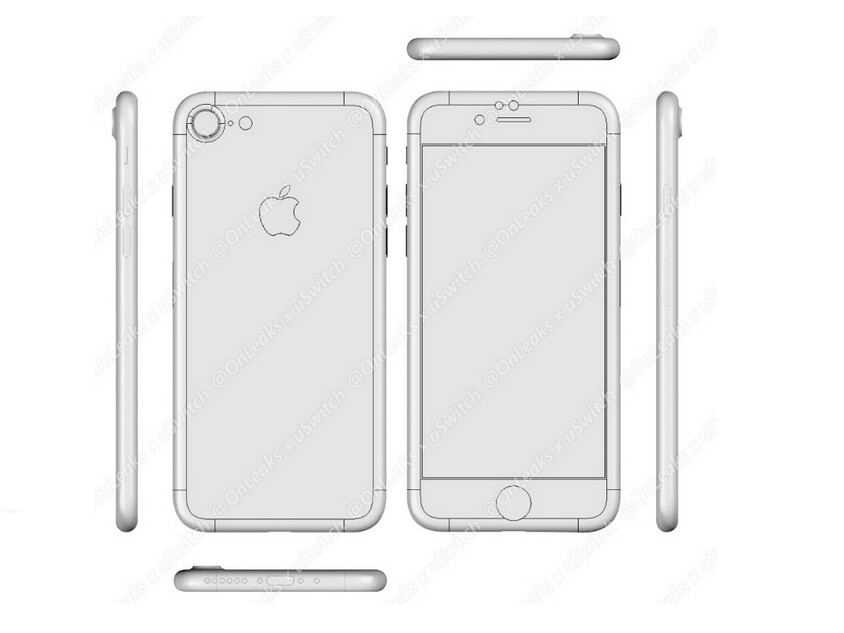 iPhone 7 CAD drawing - Apple iPhone 7 rumor review: specs, features, release date, and everything we know so far