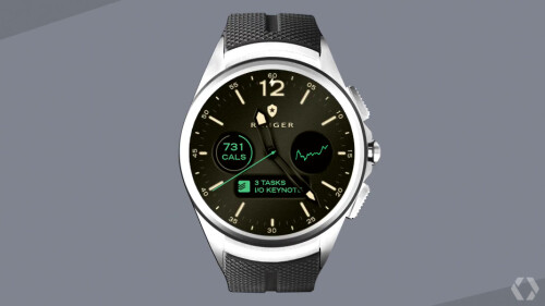 Fully customizable watchfaces with custom info