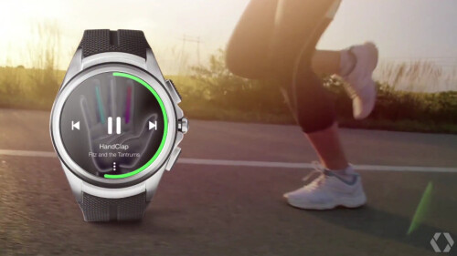 Play your music from your watch without needing to carry a phone, support for Spotify