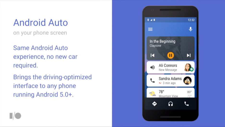 Don't have Android Auto in your car? No worries, you will soon have it all on your phone
