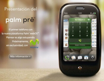 Palm: Telefonica divisions get exclusive rights to GSM Pre in Germany, U.K., Ireland and Spain