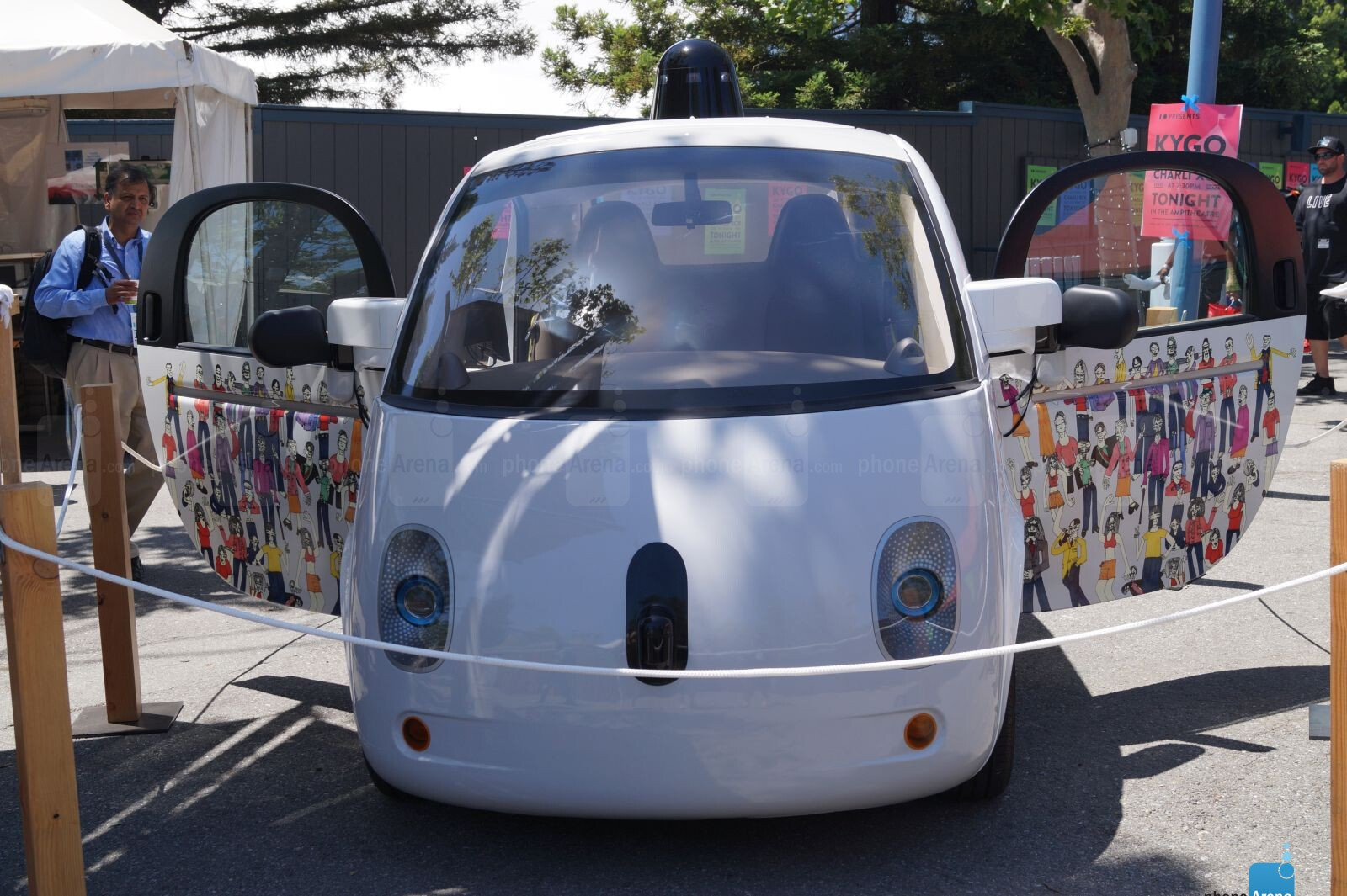 Here's a closer look at Google's self-driving car