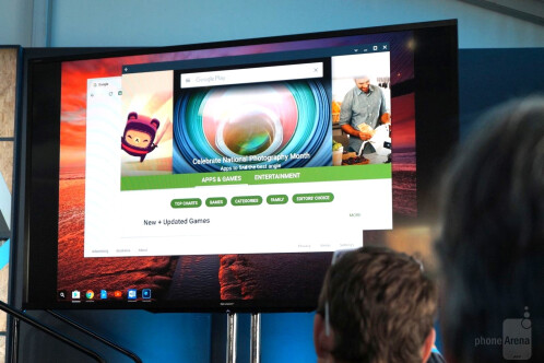 Google Play is coming to ChromeOS