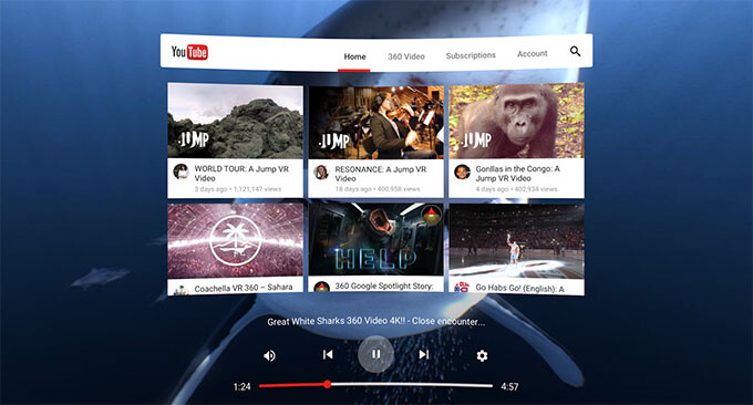 YouTube VR app for Daydream will keep the pesky real world from interrupting your videos