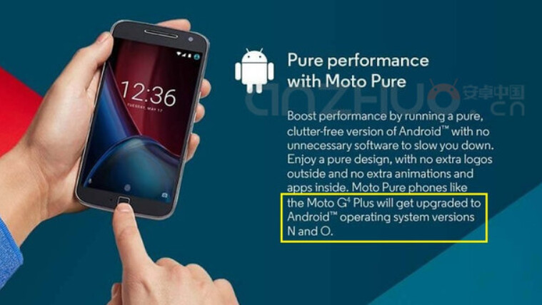 """Motorola says that Android O will follow Android N - Motorola leaks Android """"O"""""""