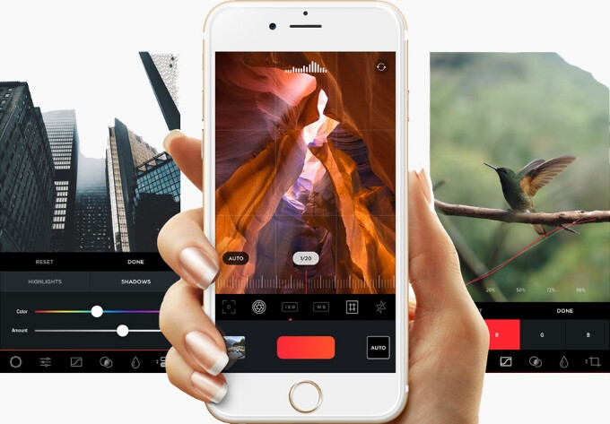 MuseCam is a great iOS photo editor that gives your photos a professional touch
