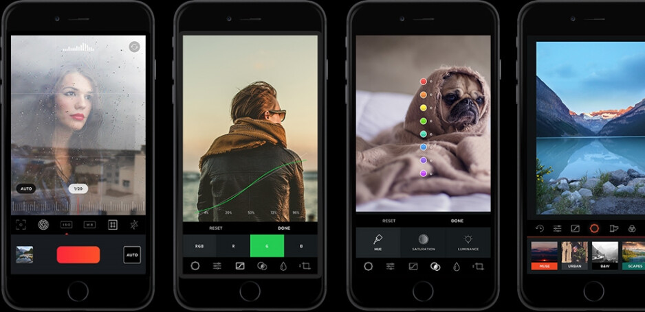 MuseCam in action. - MuseCam is a great iOS photo editor that gives your photos a professional touch