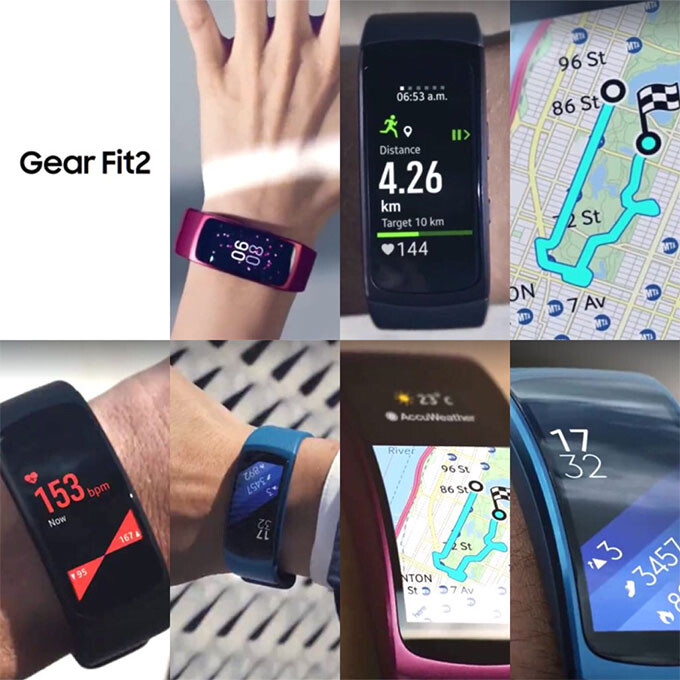 New Samsung Gear Fit 2 pics show off next-gen wearable ahead of launch