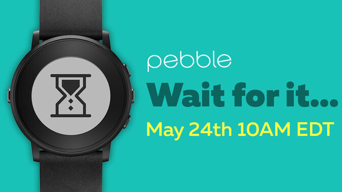 Pebble teaser counts down to tomorrow's announcement; what will we get?