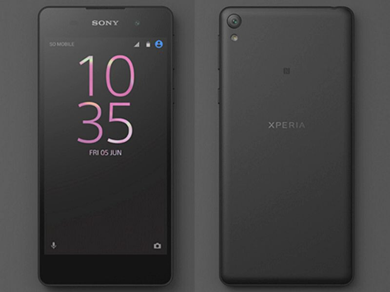 Sony accidentally shares images of the unreleased Xperia E5