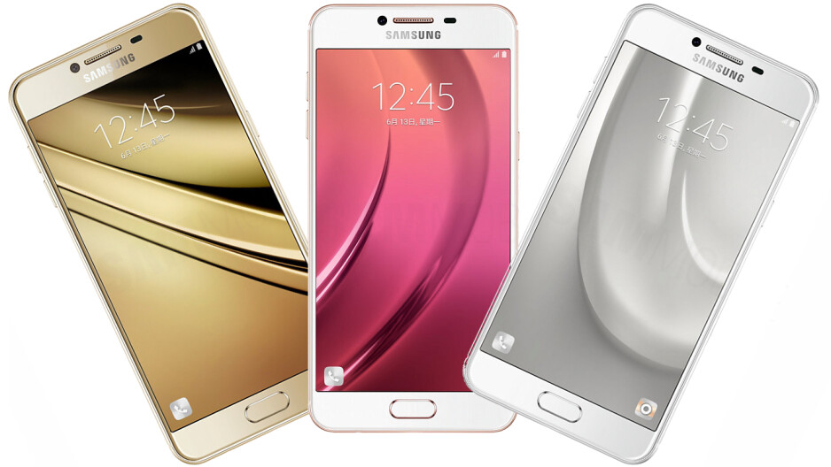 Samsung Galaxy C5 full renders in more colors leaked. Want to bet there is a pink one?